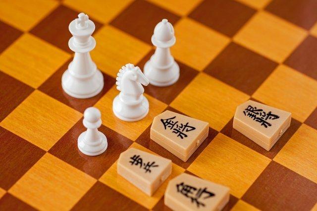 チェスと将棋の駒