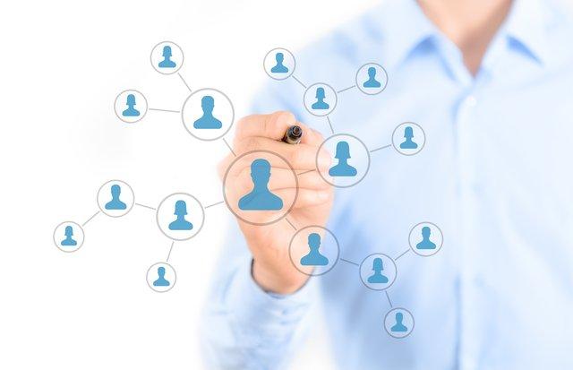 ソーシャルネットワークのイメージ
