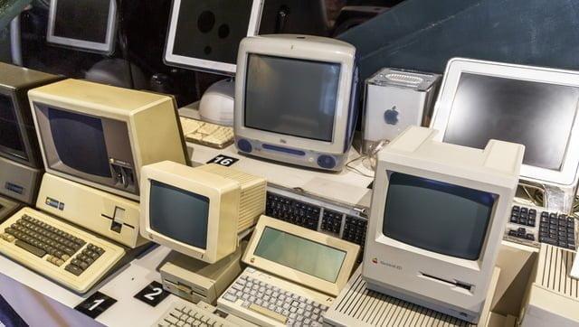 昔のパーソナルコンピュータ