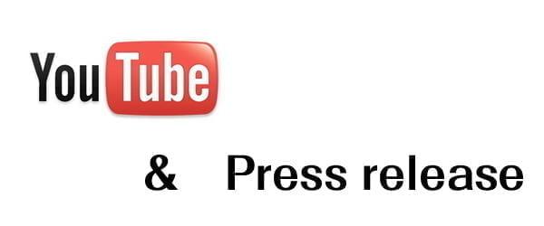 動画とプレスリリース