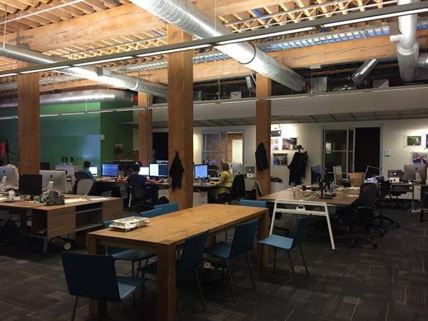 TechCrunch本社オフィス