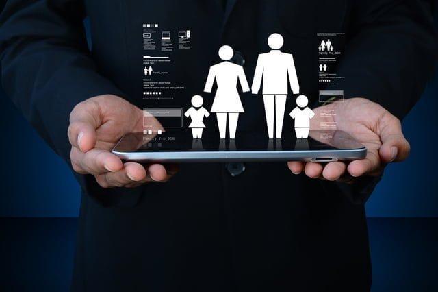 家族保険コンセプト