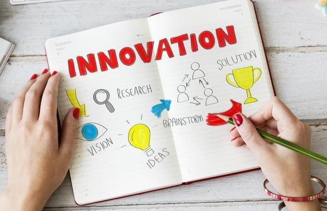 ノートに書かれたイノベーション
