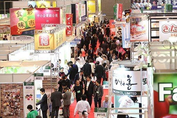 FOODEX 2016全国の食品メーカーが出展するエリア