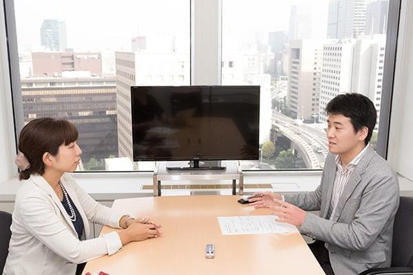 日本能率協会 草柳さん(左)