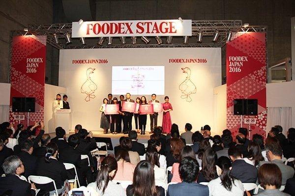 FOODEX美食女子グランプリ授賞式