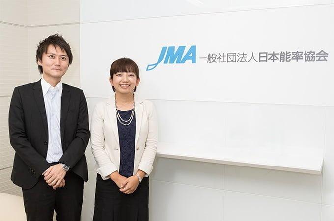 日本能率協会 山野辺さん(左) 草柳さん(右)